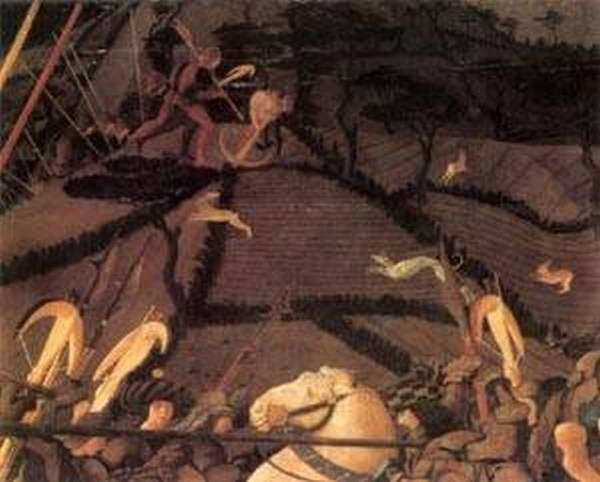 Bernardino della ciarda thrown off his horse detail 3 1450s xx galleria degli uffizi florence